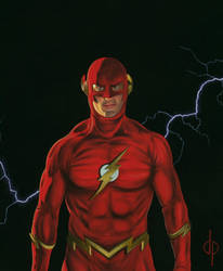 The Flash-1 by DwaynePinkney