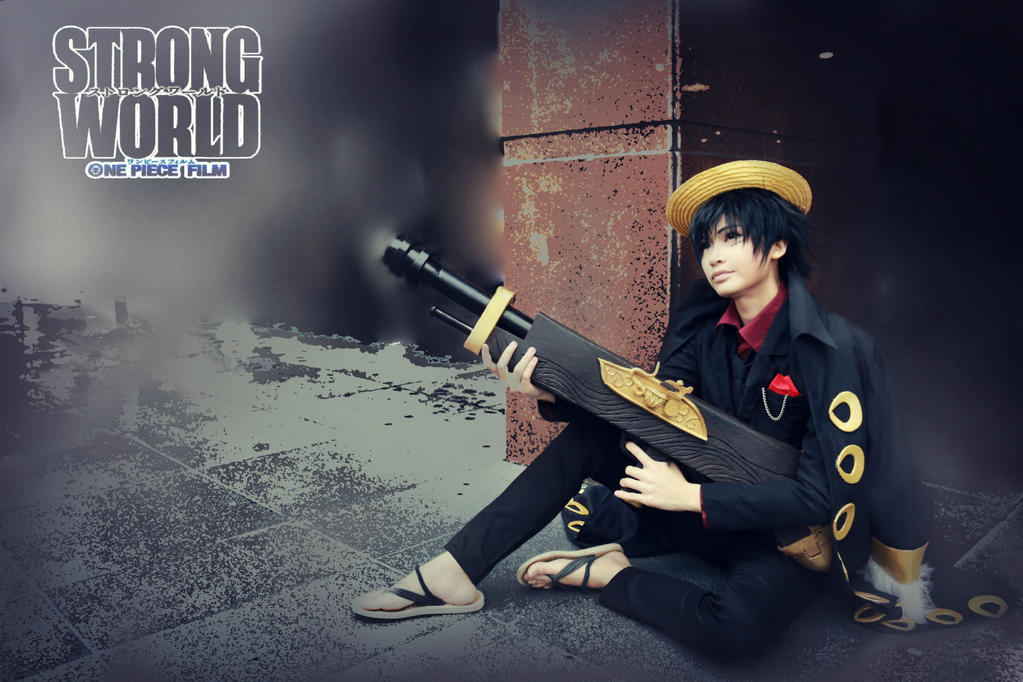 Luffy One Piece Strong World Cosplay by OzakuRan
