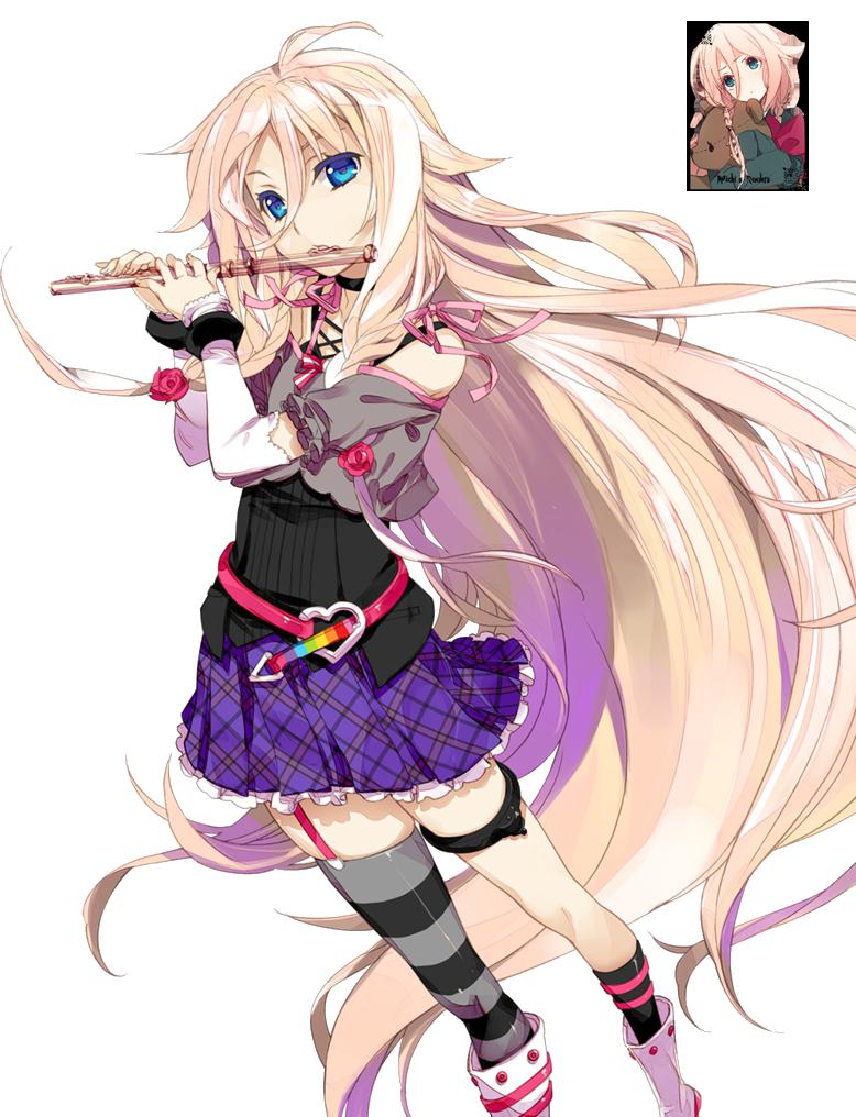 IA Render (Vocaloid 3) by lunarinluka on DeviantArt  IA Render (Voca...