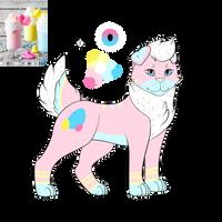 Easter Peeps Milkshake - OTA *CLOSED* by x-Luna-SilverWolf-x