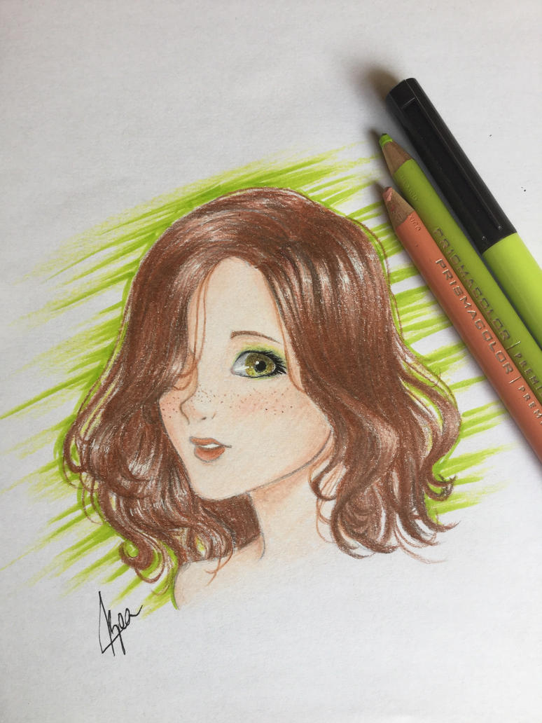 Prismacolor practice by Bea2028