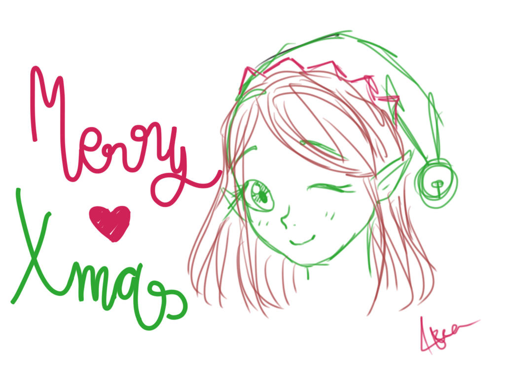 Merry (late ^*^) X-mas!! by Bea2028