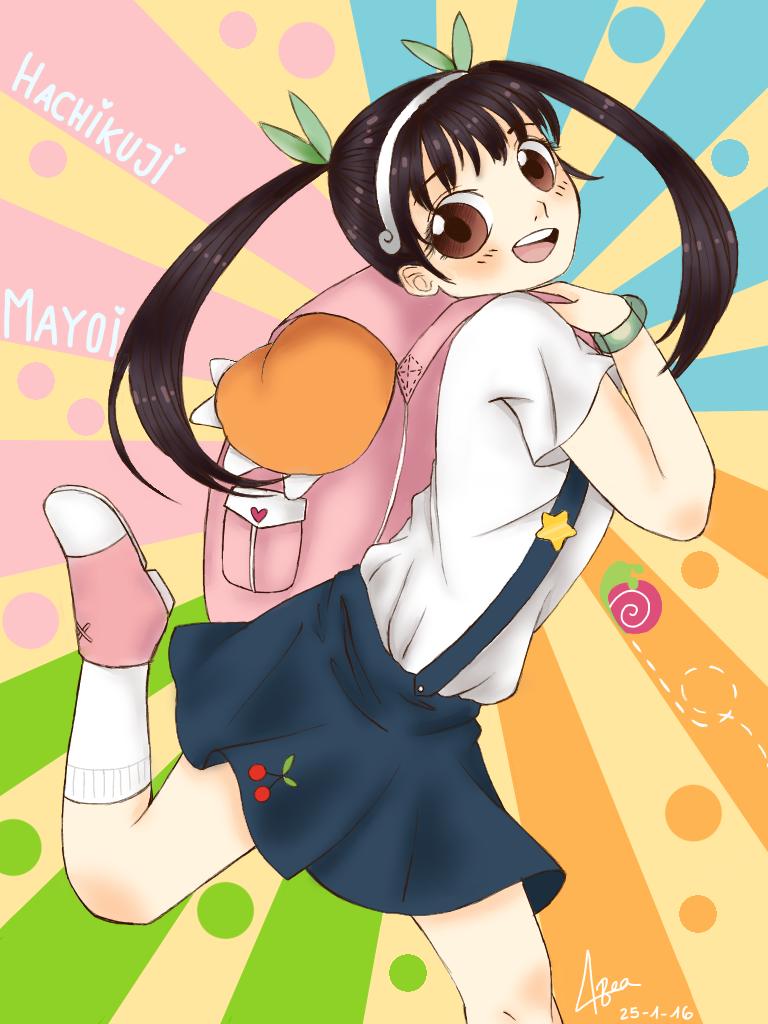 Hachikuji Mayoi by Bea2028