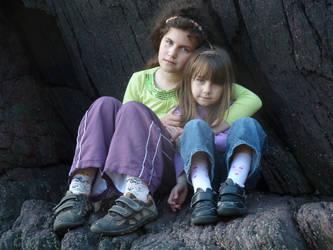 My Daughters by CorneliaMladen-stock