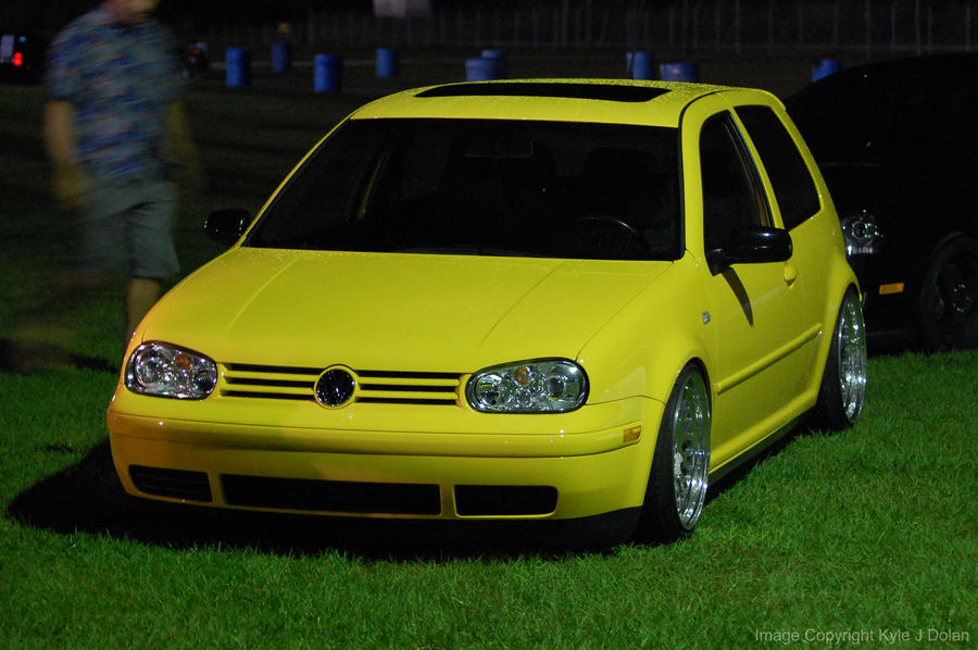 Yellow VW by Focus-Fire