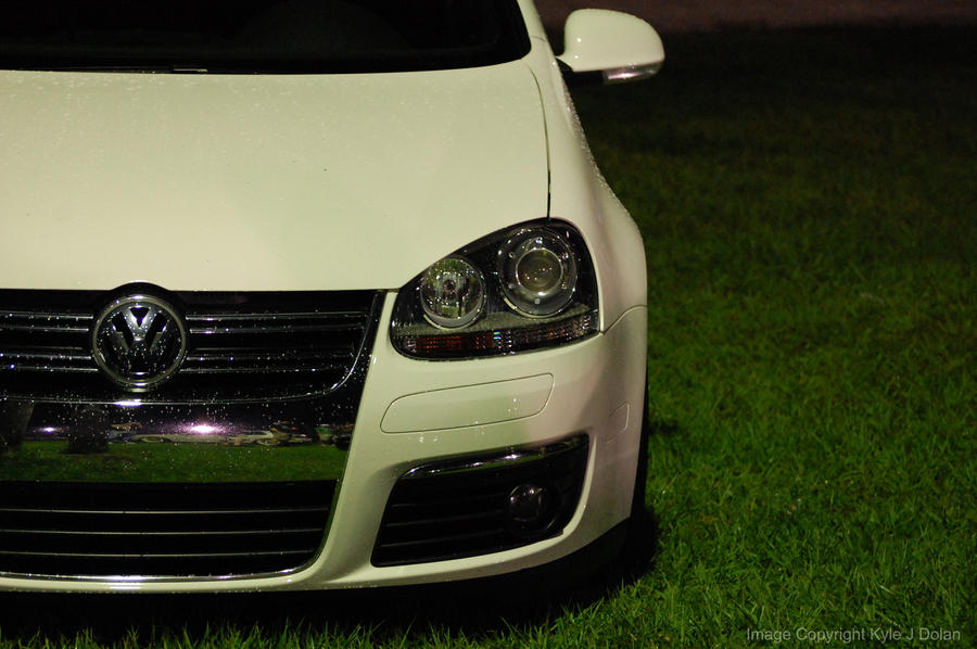 White VW by Focus-Fire