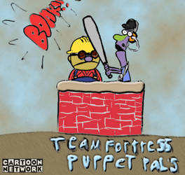 Team fortress 2+Puppet Pal by stabartist