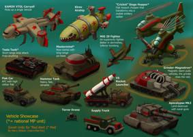 RA2 Mod - Soviet Vehicles by Harry-the-Fox