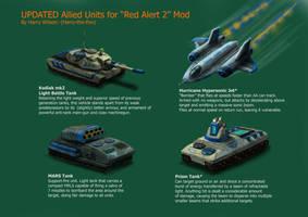 RA2 Mod- Alt Allied Units by Harry-the-Fox