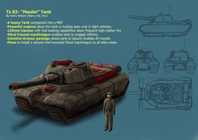 Mauler Tank mk2- RA2 mod by Harry-the-Fox