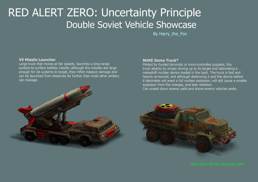 V5 Launcher and Nuke Truck by Harry-the-Fox