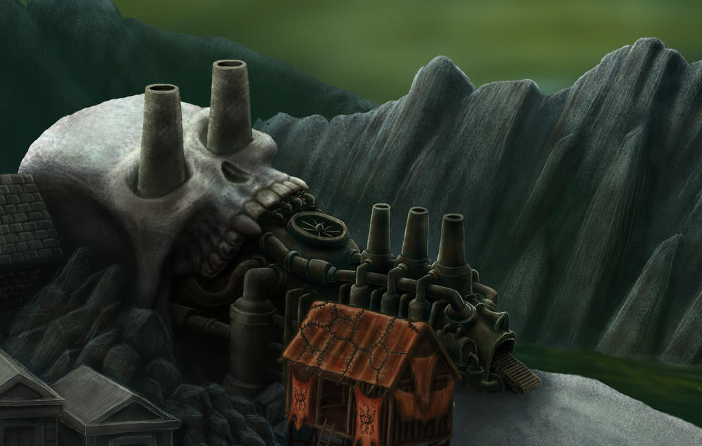 HellWorld Teaser- Bone Factory by Harry-the-Fox