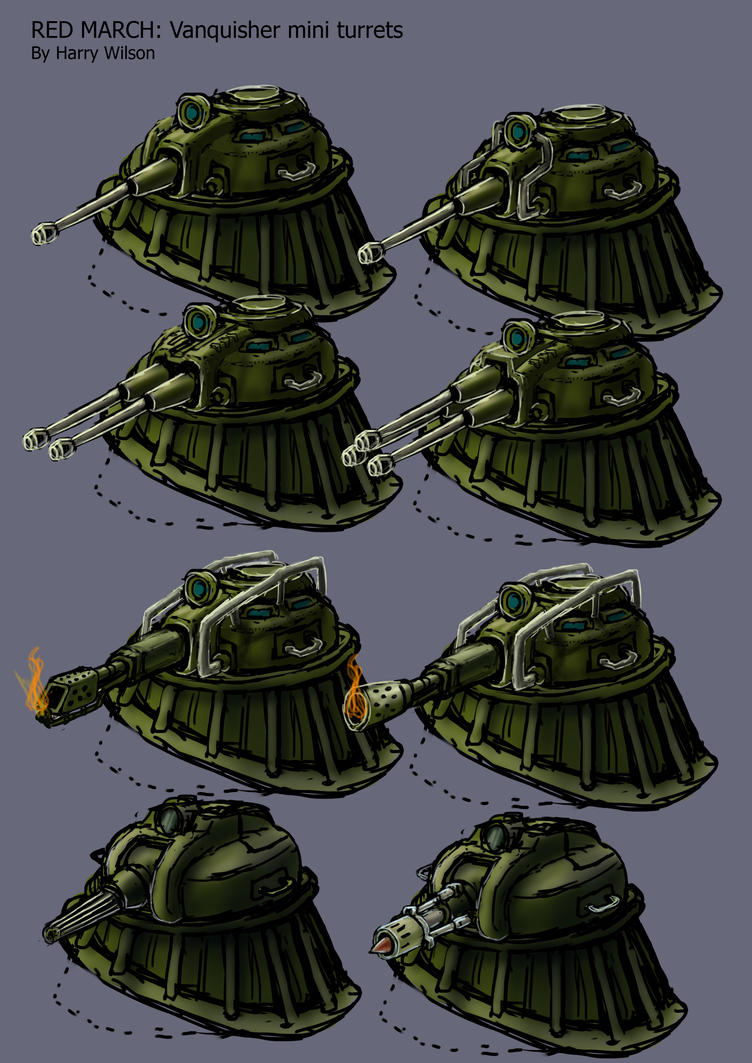 RM- Vanquisher Mini Turrets 1 by Harry-the-Fox