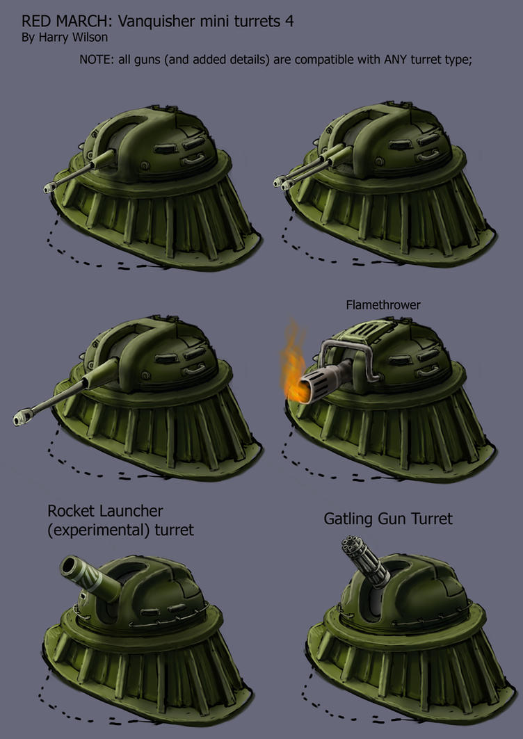 RM- Vanquisher Mini Turrets 4 by Harry-the-Fox