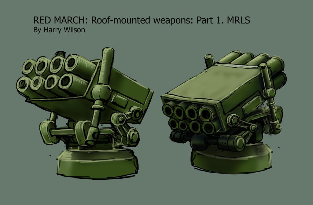 RedMarch- Vanquisher- Roof 1- MRLS by Harry-the-Fox