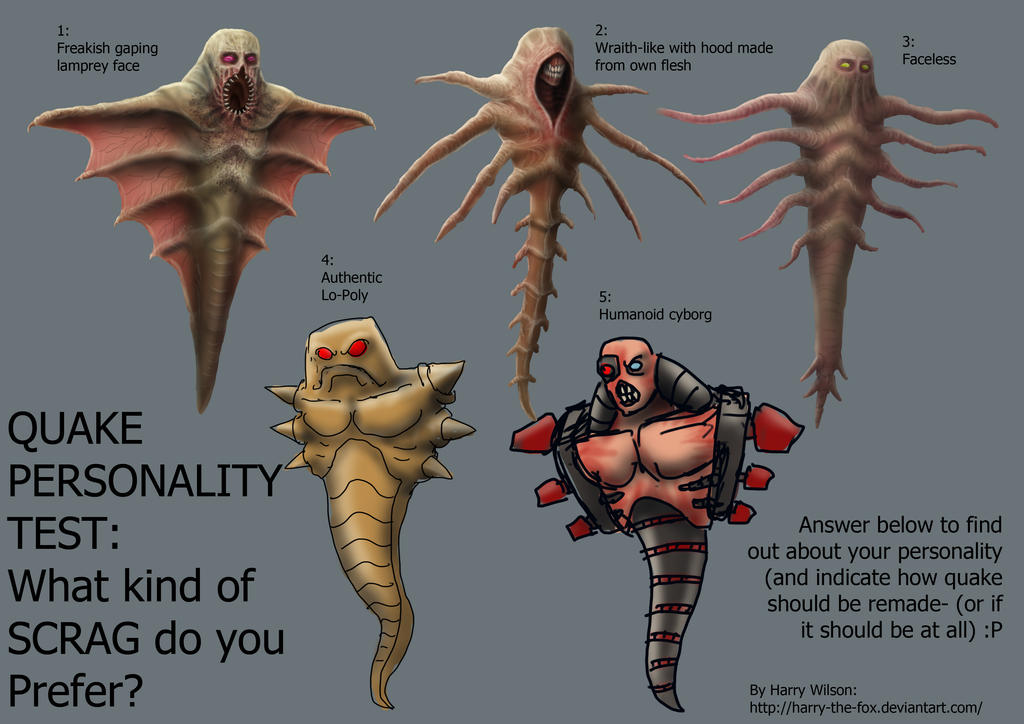 Should Quake be Remade? Scrag Personality Test by Harry-the-Fox