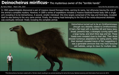Deinocheirus Size by Harry-the-Fox