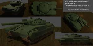 Red Alert Zero WIP Mauler Tank B