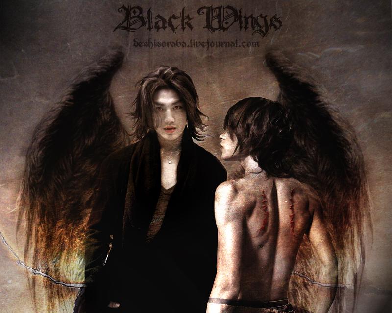 Black Wings I by De-sh