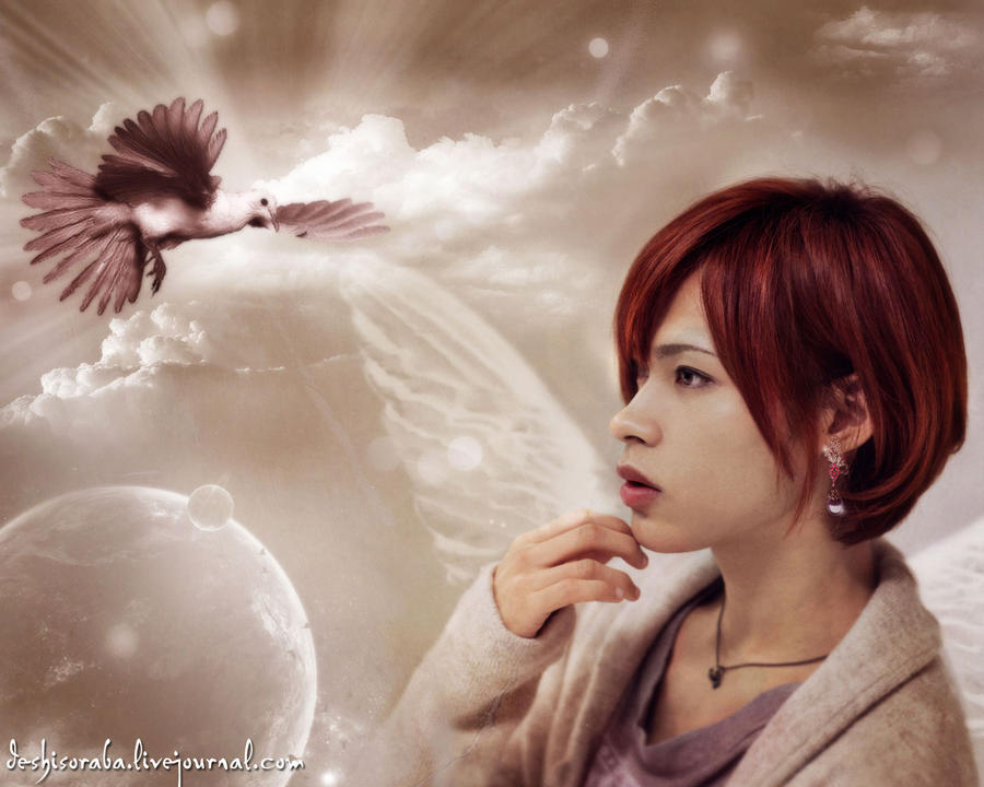 Spirit of the Dove by De-sh
