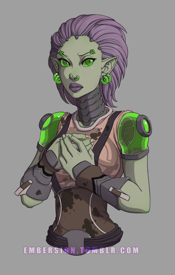 ZombleQueen Commission by CrewOfTheBloodyDawn