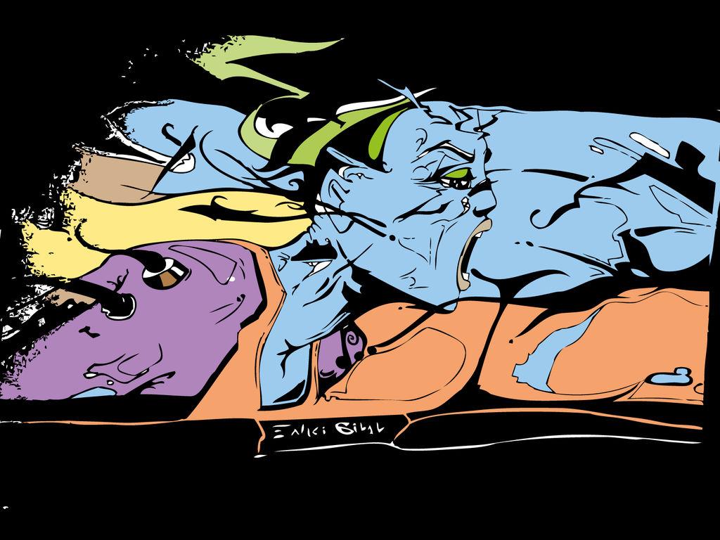 Enki Bilal Fan Art By Micromegas1986 On Deviantart