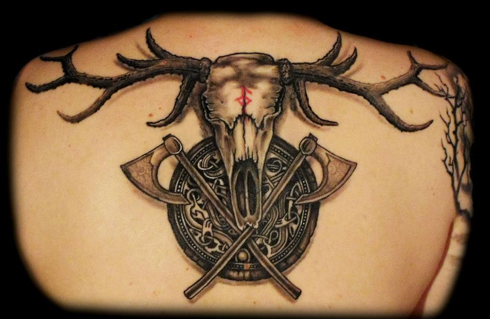 Trophy tattoo by dzsedi on deviantart - Tatouage rune viking ...