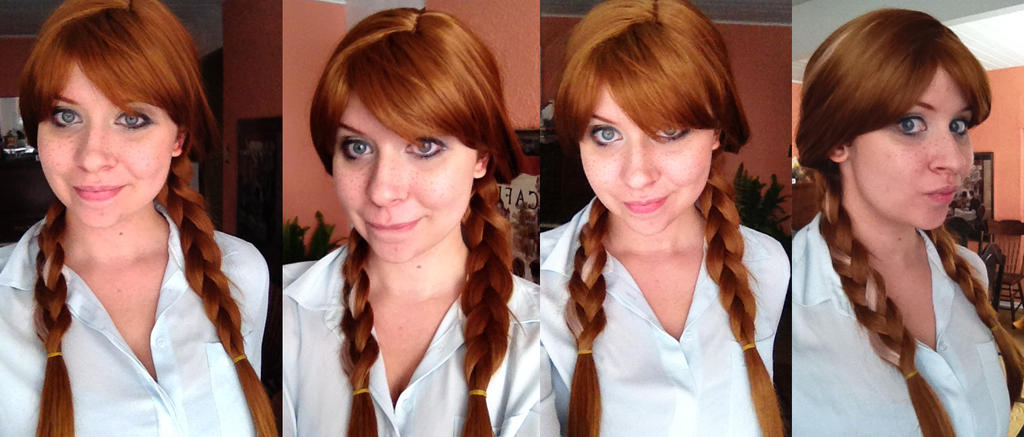 Anna wig and look test by katmurz