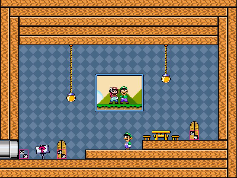 SMW Mario's House Part 2 - Super Mario Bros  X by FutureNyanCat on