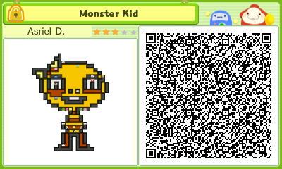 [Stretchmo] Monster Kid (Undertale) (Sprite)