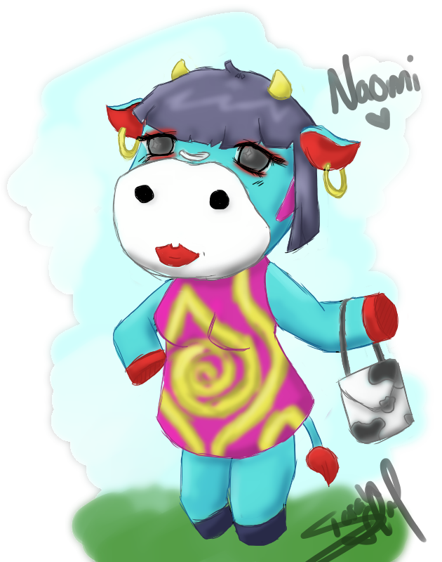 Acnl Naomi By Imousenano On Deviantart