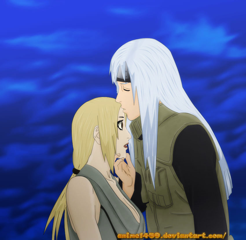 naruto 591 tsunade and dan by anime1459
