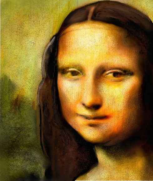 Mona Lisa by heristal