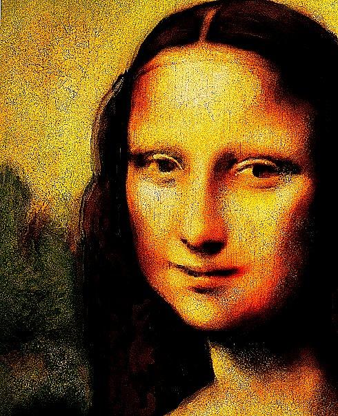 Mona Lisa 2 by heristal