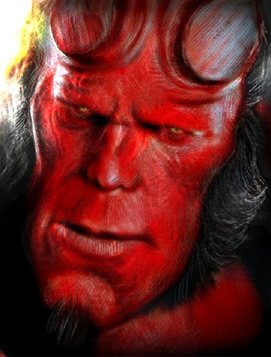 Hellboy update by heristal