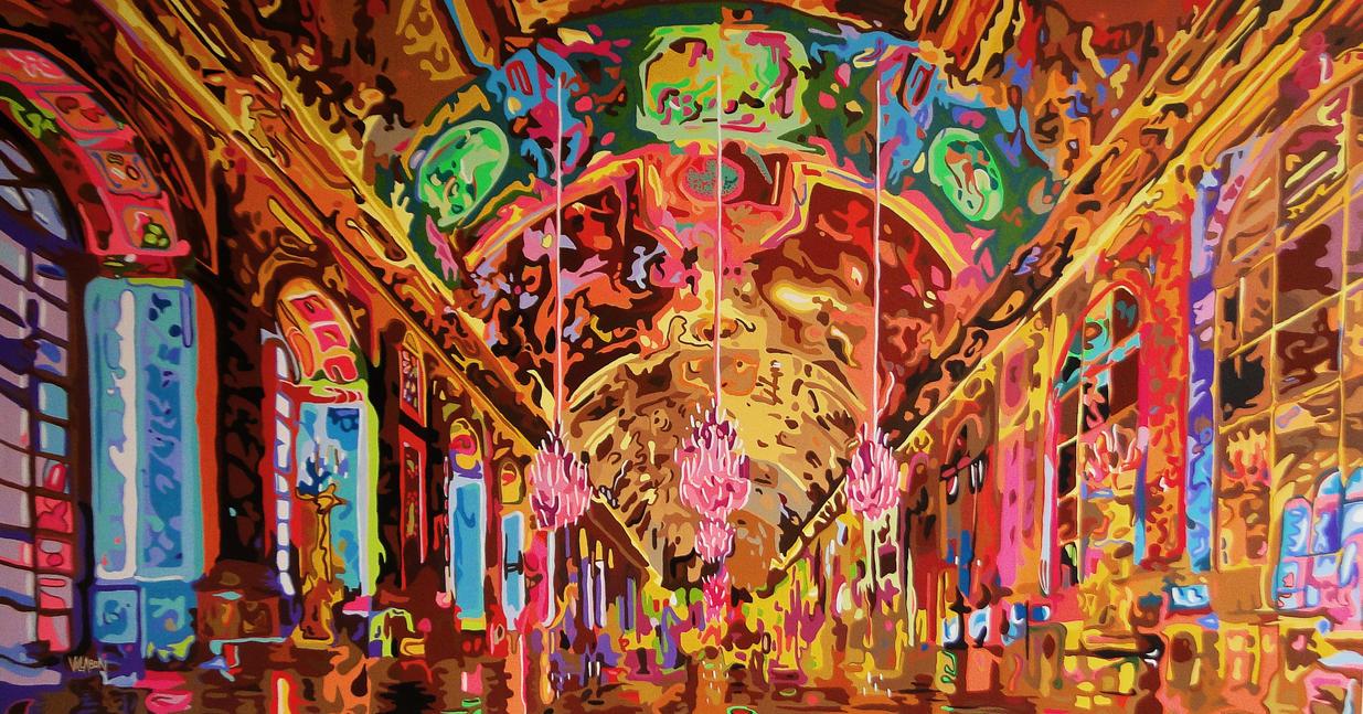 Salon de los espejos palacio de versalles by - Salon de the paris 9 ...