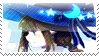 WATGBS: Blue Witch Wadanohara STAMP by Sayorii-chii