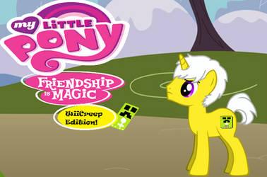 My Little Pony WiiCreep Edition Cover by WiiCreep