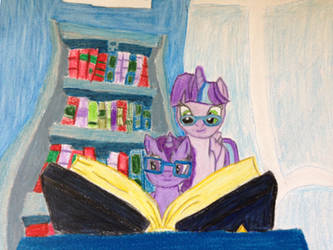 Two Sisters Reading by WiiCreep