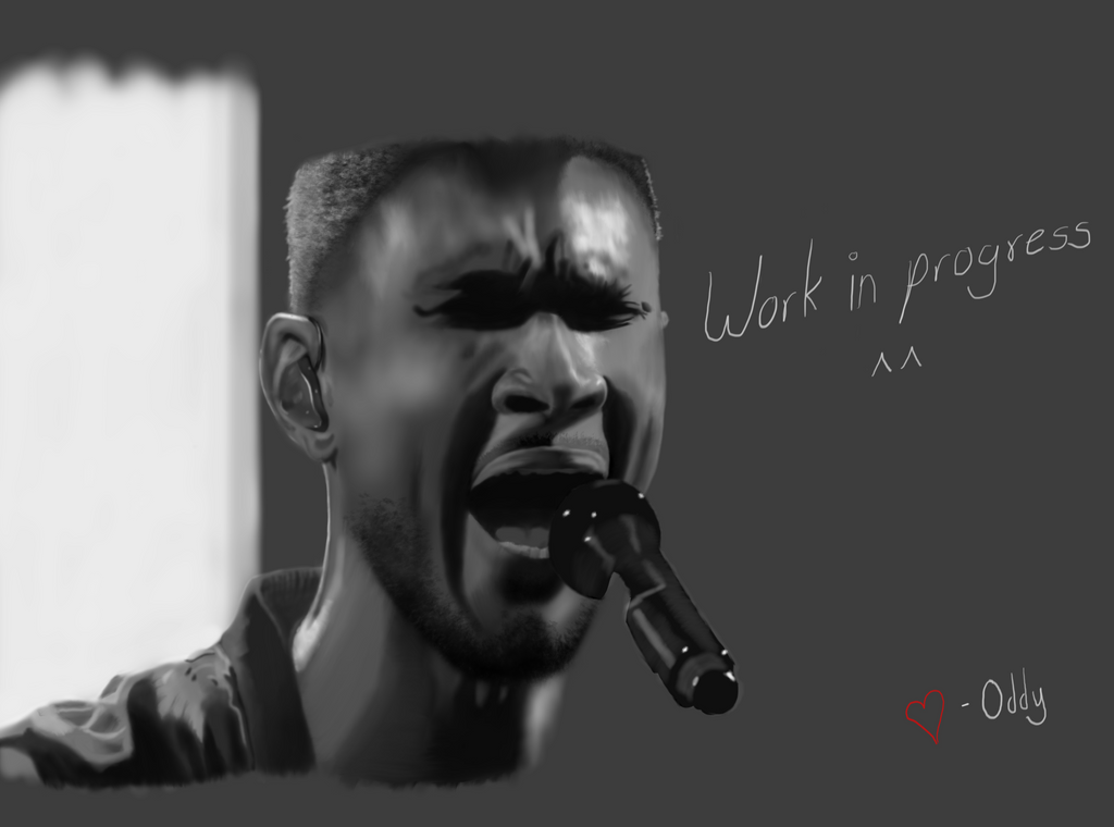 Usher | WIP by They-Call-Me-Oddy