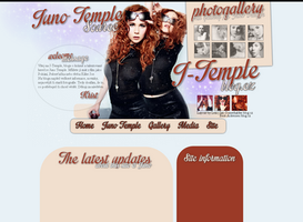 Juno Temple Layout by Lexigraphic