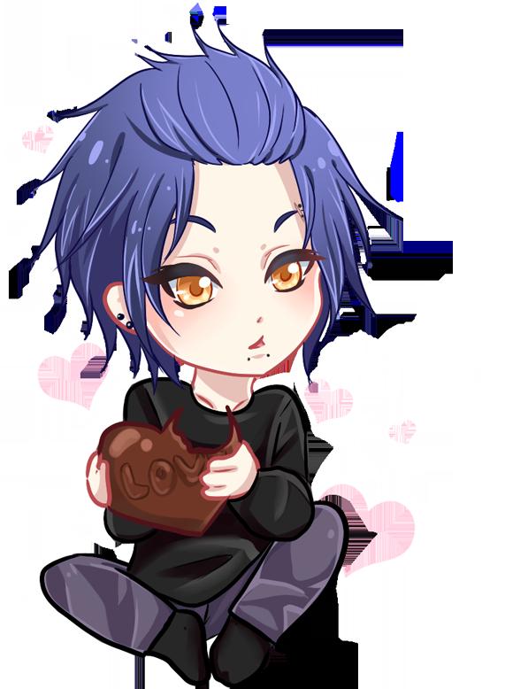 Birthday Valentine? by GhostXII