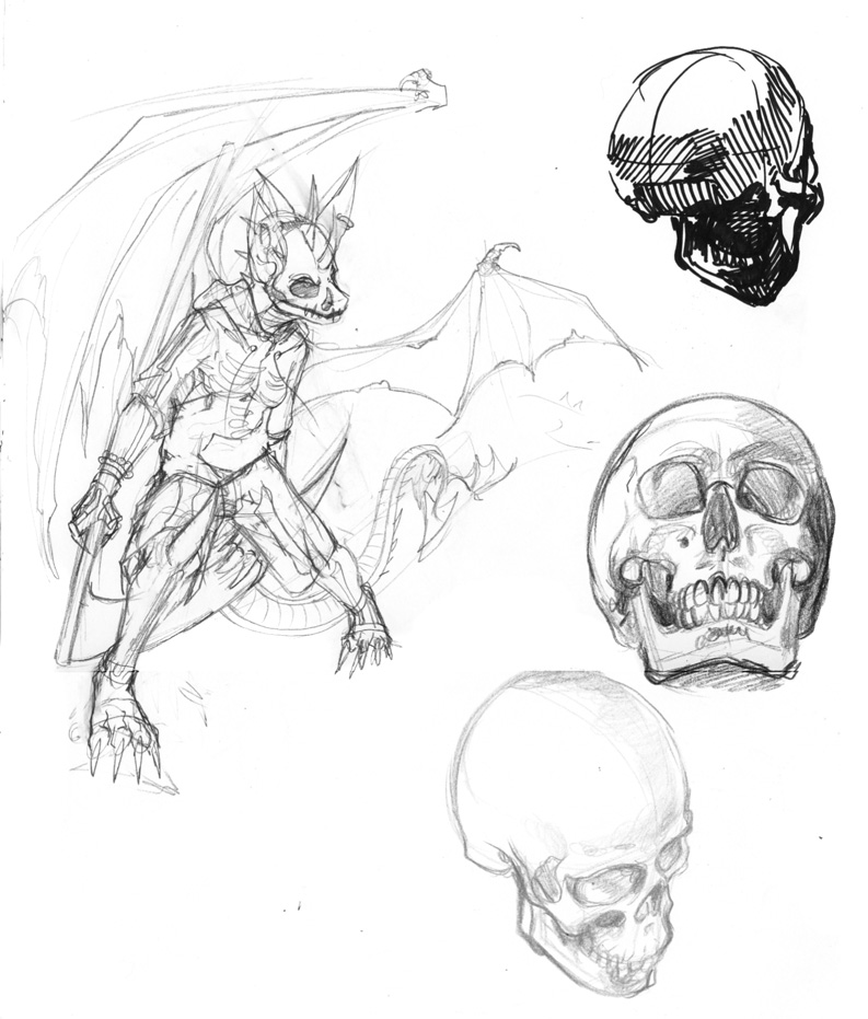 More Skulls by weremagnus