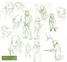 Sideshot Sketches by weremagnus