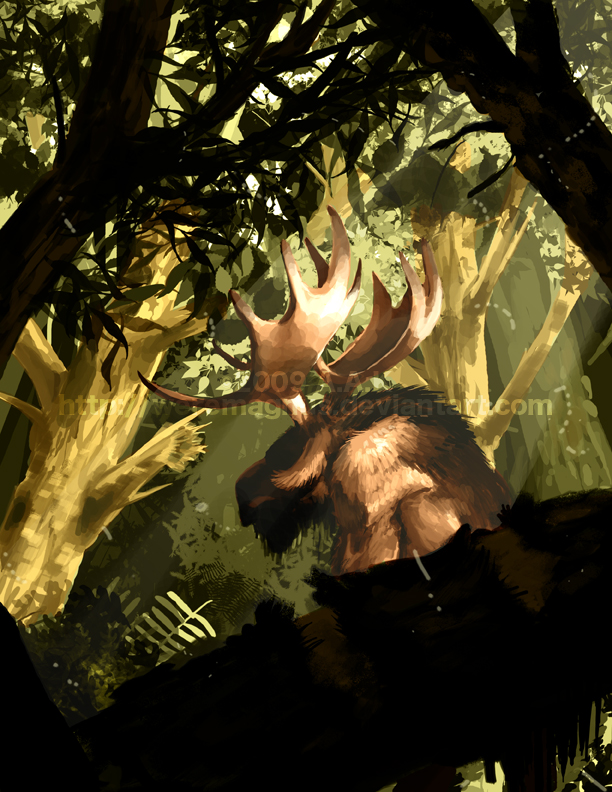 Return of Weremoose by weremagnus
