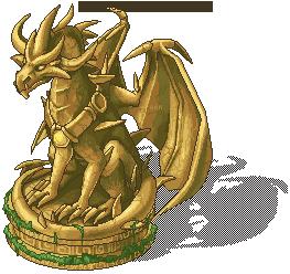 Malefor Statue by weremagnus