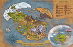 The Dragon Realms Map