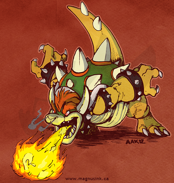 Bowser by weremagnus