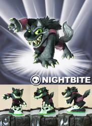 Fan Skylander: Nightbite by weremagnus