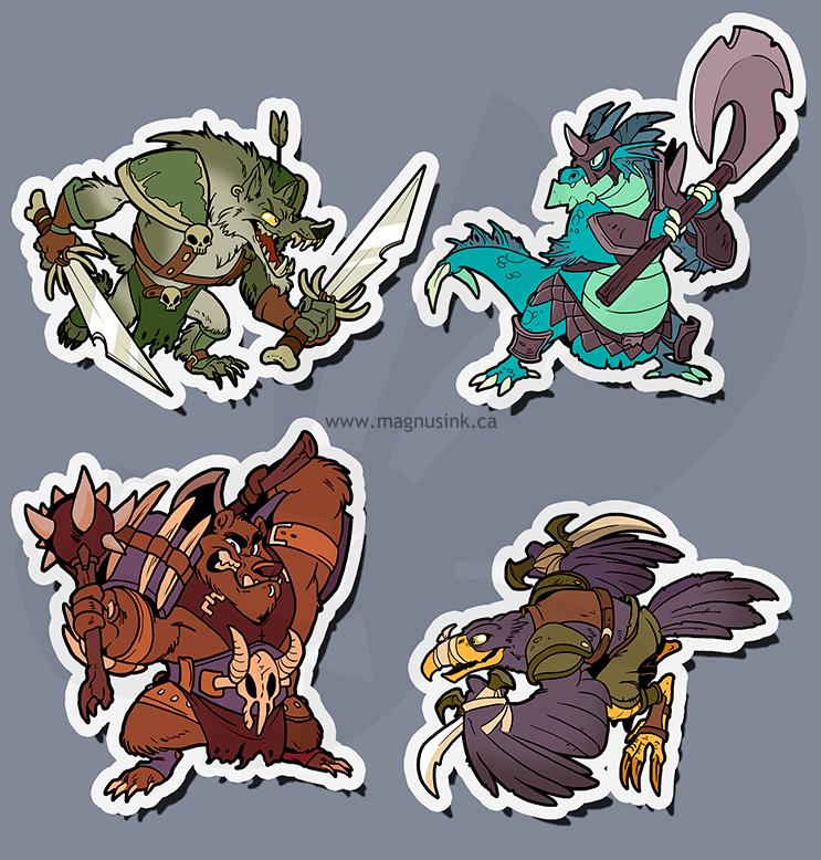 Beasty Brigands by weremagnus
